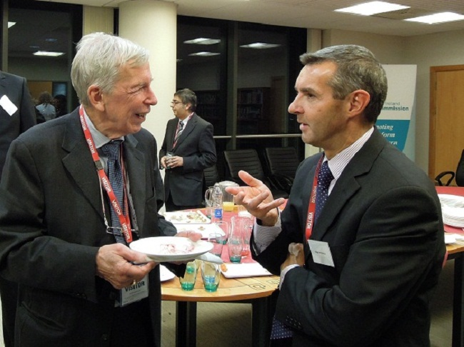 Photo of Dr Agren and Prof. McMahon